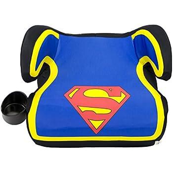 KidsEmbrace Superman Booster Car Seat DC Comics Youth Backless Blue 4801SPM