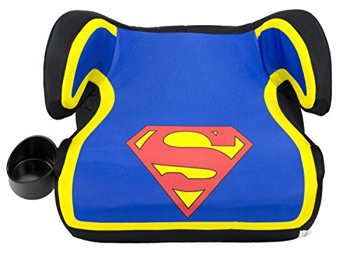 KidsEmbrace Superman Booster Car Seat, DC Comics Youth Backless Seat, Blue, 4801SPM