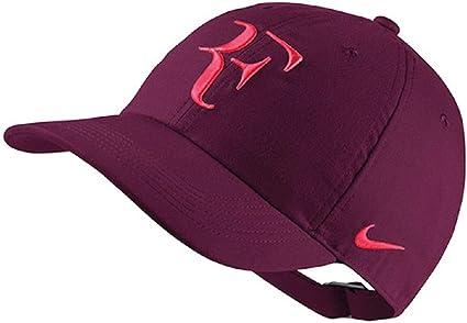 Nike Gorra RF Roger Federer unixex Adult Color Burdeos: Amazon.es ...