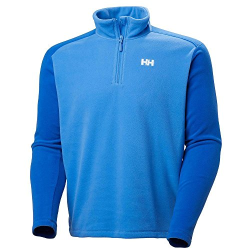 Helly Hansen Men's Daybreaker Lightweight Half Zip Fleece Jacket, 503 Blue Water, Small by Helly Hansen