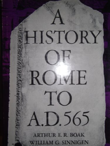 History of Rome to 565 A.D.