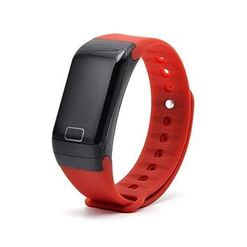 UTHDELD Smartwatch Fitness Tracker Pulsera Monitor de Ritmo ...