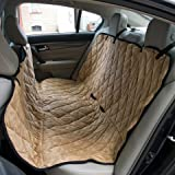 Sonnyridge Dog Hammock & Seat Covers For Dogs. This Pet Car Seat Cover Protects Your Back Seat From Dirt, Hair or Dander. A Great Seat Protector For Dogs – Helps Keep Your Pet Safe. For Sale