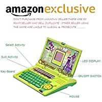 Supreme Deals Power Educational Laptop for 20 Fun Activities Enhanced Skills for Boy and Girls (Green)