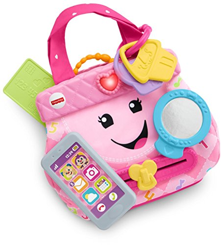 51aAFQLipVL - Fisher-Price My Smart Purse Toy Playset
