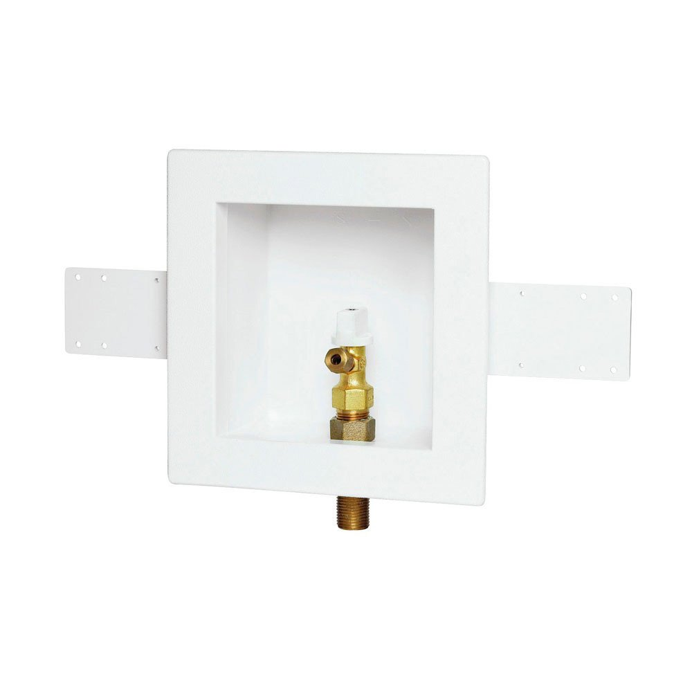 Oatey 38806 Plain Box, No Valve, No Hole, Standard Pack with Grommet