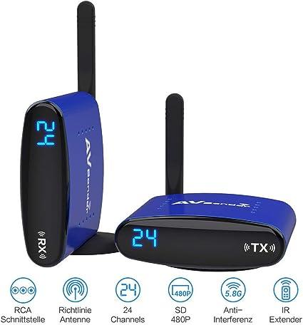 Pakite Wireless Av Sender Pat 535 Ir Fernbedienung Elektronik