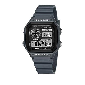 Reloj Digital, Deportes De Niños, Cronómetro Impermeable, Alarma, Calendario, Luz De