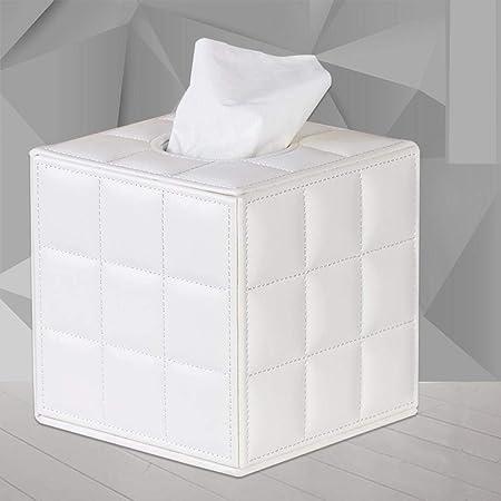 Caja De Pañuelos Caja De Panuelos De Papel Dispensador De Pañuelos Baño De Cuero Creativo Rollo