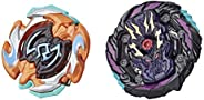 BEYBLADE Burst Rise Hypersphere Dual Pack Dusk Balkesh B5 and Right Artemis A5 -- 1 Left-Spin and 1 Right-Spin