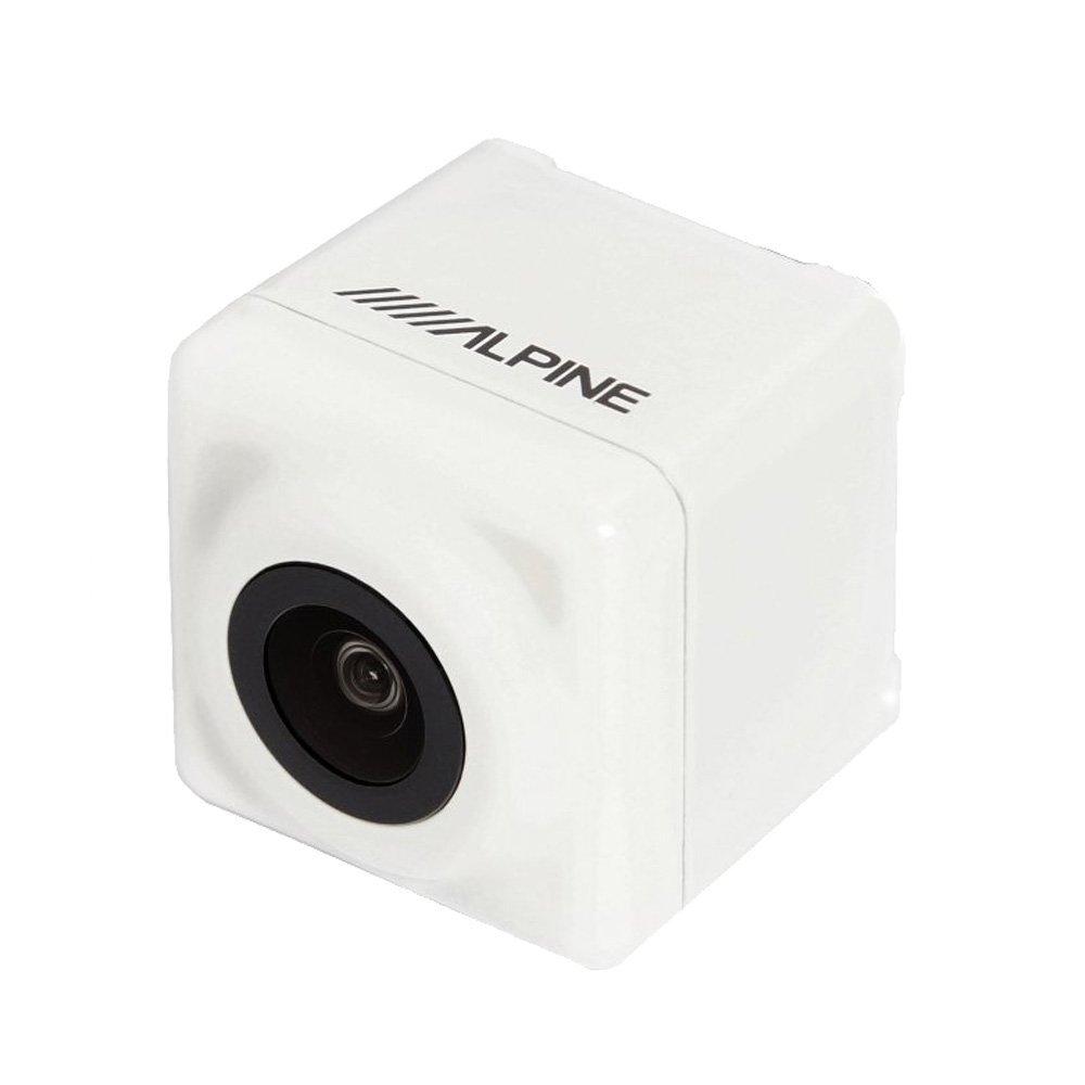 アルパイン(ALPINE) アクア専用 バックビューカメラパッケージ(白) HCE-C1000D-AQ-W バックカメラ B01FDYOOF4 パールホワイト パールホワイト