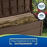 Suncast 50-Gallon Medium Deck Box - Lightweight