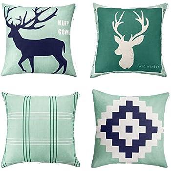Amazon Decorative Square 18 x 18 Inch Throw Pillow Indoor