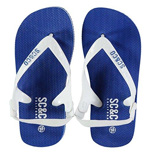 SoulCal Kinder Maui Flip Flops Sandalen Strand Freizeit Zehentrenner Badeschuhe Blau