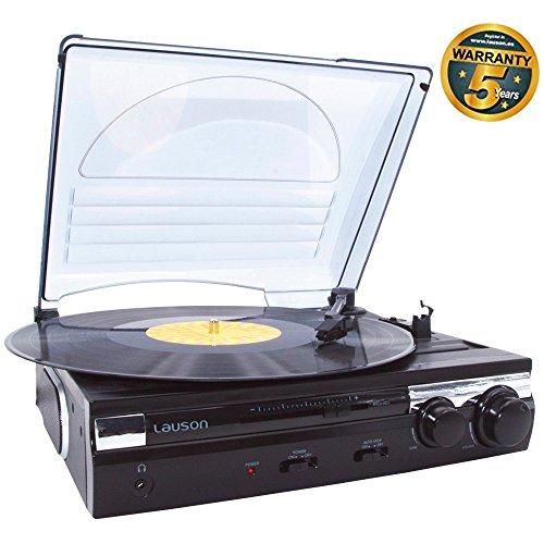 lauson plattenspieler mit lautsprecher usb digitalisier vinyl to mp3 stereo ebay. Black Bedroom Furniture Sets. Home Design Ideas