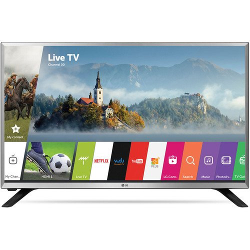 Check Out This LG 32LJ550M 32 720p with WebOS 3.5 Smart LED TV