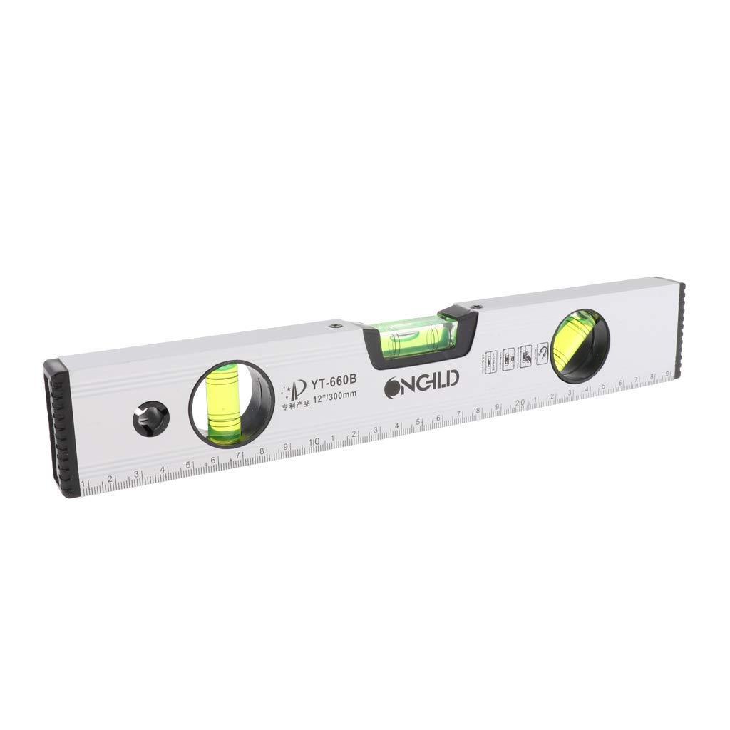40,6 cm magnetische Wasserwaage Messwerkzeug Horizontales Lineal 30cm 1 30,5 cm 50,8 cm 300 mm