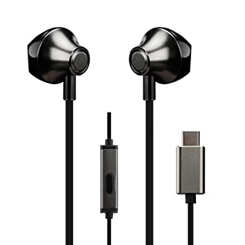 2892bf1399a Anskp USB Type-c Earphone, In-Ear USB C Earphone with: Amazon.co.uk ...