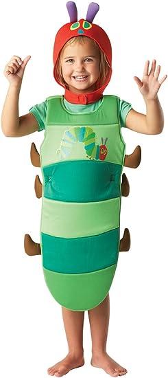Rubbies - Disfraz de gusano para bebé niño, talla S (4 años ...