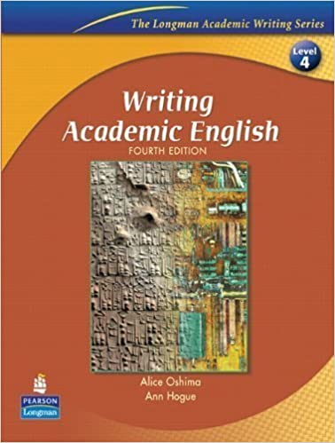 Writing academic english fourth edition the longman academic writing academic english fourth edition the longman academic writing series level 4 4th edition by oshima alice hogue ann 2006 paperback alice fandeluxe Image collections