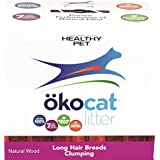 Healthy Pet okocat Natural Wood Litter Long Hair Breeds Clumping