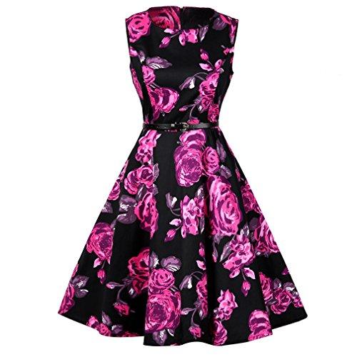 1960s Floral Dress - 9