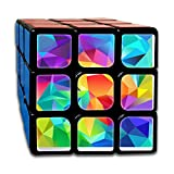 Cartyp One Size Sticker Speed Cube Smooth Magic Cube Puzzle Toys