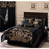 Amazon.com: Black - Comforter Sets / Comforters & Sets: Home & Kitchen