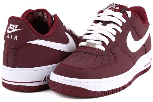 best service 6348e 70e14 ... new style nike air force 1 07 cherrywood red us 7.5 eu 40.5 amazon.  68292