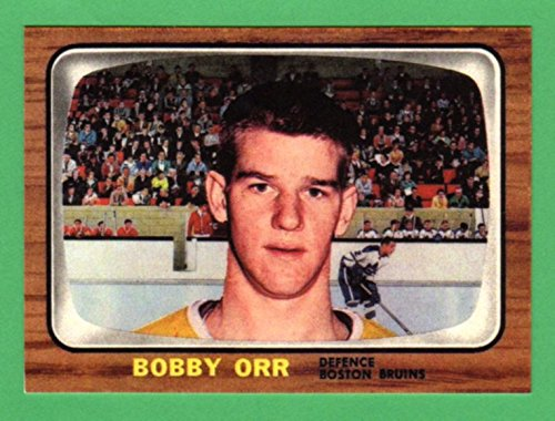 (Bobby Orr 1966 Topps Hockey Rookie Reprint Card (Bruins) )