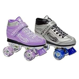 Amazon Com Pacer Comet Kids Light Up Roller Skates