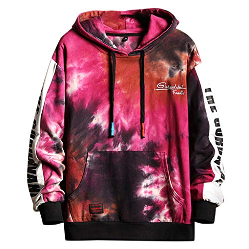 3D Printed Unisex Graphic Hoodies Cool Realistic Pullover Athletic Hooded Sweatshirts Red