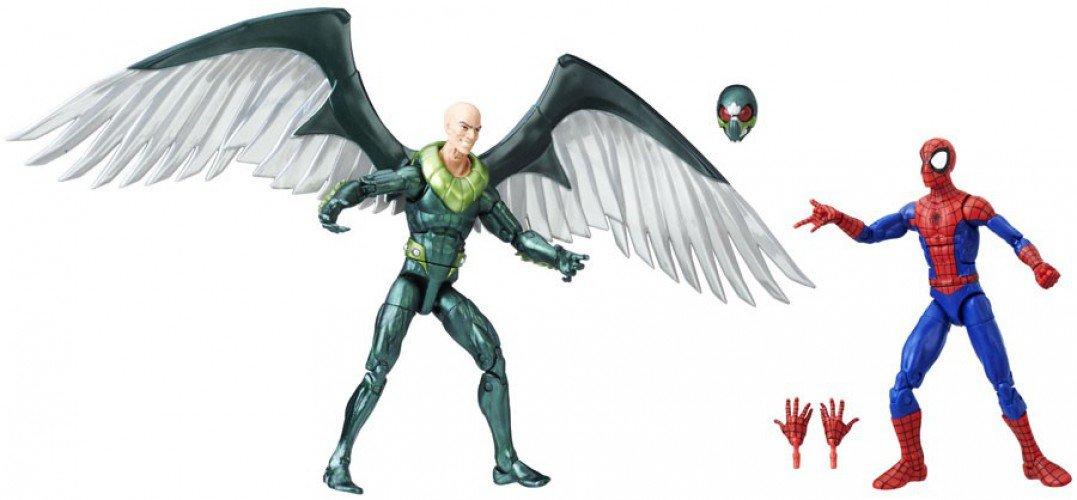 Marvel Legends Ultimate Spider-Man /& Marvels Vulture Exclusive 2-Pack Action Figures Hasbro Toys SG/_B071V2VKN6/_US