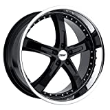TSW JARAMA 18x8.0 5/108 ET40 CB72.1 GLOSS BLACK MIRROR LIP