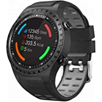 Opta SB-067 Aluminium-Alloy Heart Rate Monitor Smart Watch (Black)