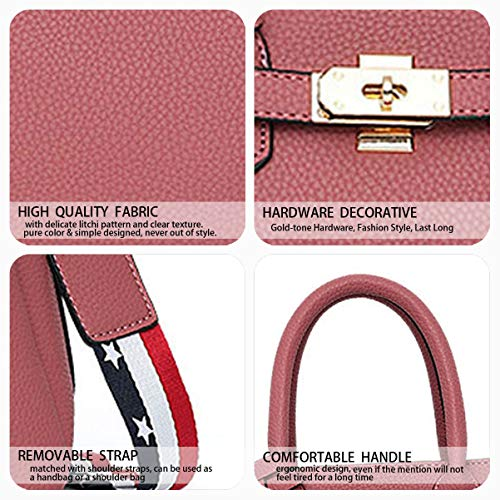 Bags Pale Pinkish Shoulder Handbags Leather Faux Women's Bags Grey Body Cross Top Bags Handle Yqx7PcHE