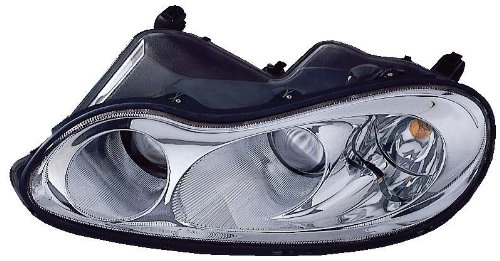 Depo 333-1163L-AS Chrysler Concorde/LHS Driver Side Replacement Headlight (Chrysler Concorde Headlight Assembly)