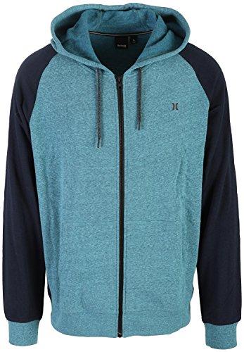 hot Hurley Men's Bayside Zip Up Fleece Hoodie on sale