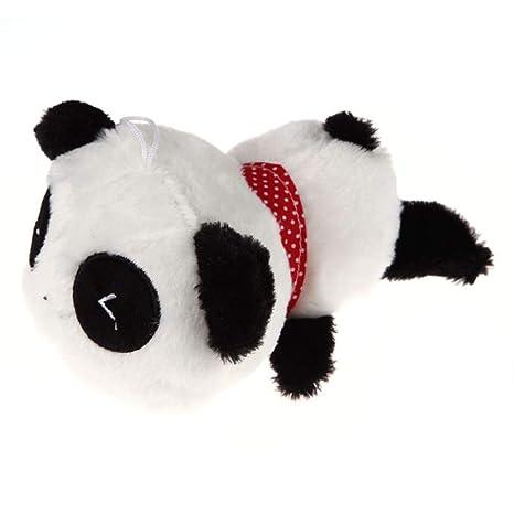 Fliyeong Panda Cojín simpático Panda Pequeño Suave Muñeca ...
