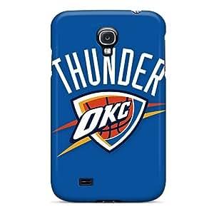 Galaxy S4 Case Bumper Tpu Skin Cover For Nba Oklahoma City Thunder Accessories