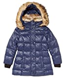 S13 Girl's Chelsea Down Puffer 8 Blue