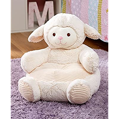 Kids' Plush Lamb Animal Chair: Toys & Games