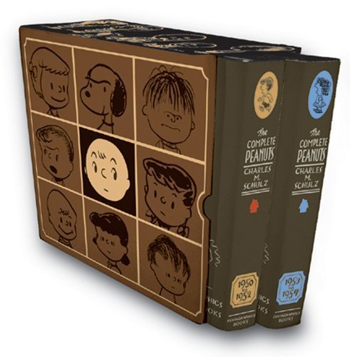 (The Complete Peanuts 1950-1954 Box Set by Charles M. Schulz (2004) Hardcover )