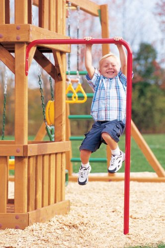 Creative Playthings Chin Up Bar (Fireman Pole For Swing Set)