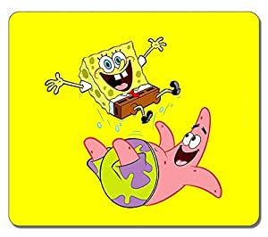 Customized Stylish Textured Surface Water Resistent Mousepad Spongebob High Quality Non-Slip Gaming Mouse Pads by ruishername