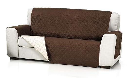 Belmarti Cubre Sofa Acolchado 2/P, Marrón, 2 Plazas: Amazon ...
