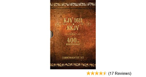 Kjv 1611 bible nkjv bible: 400th anniversary commemorative set