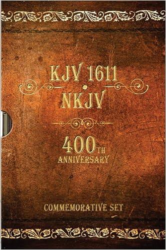 KJV 1611 Bible / NKJV Bible: 400th Anniversary Commemorative Set