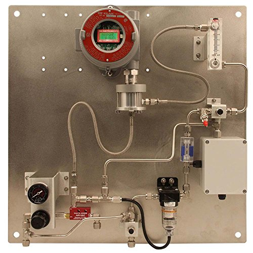 RKI 30-0954RK-209 Aspirator Adptr,Plate Mounted,w/flow switch for oxy/tox & IR sens in 18-0431RK/18-0432RK