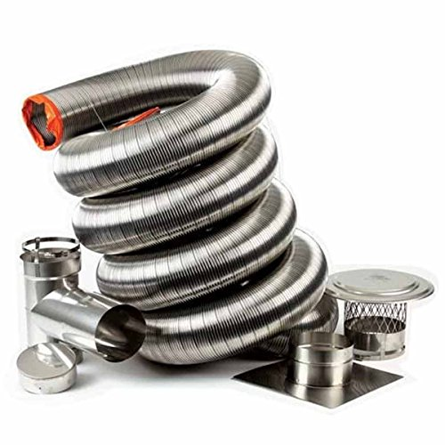 "8"" x 25' HomeSaver UltraPro Chimney Relining Kit"